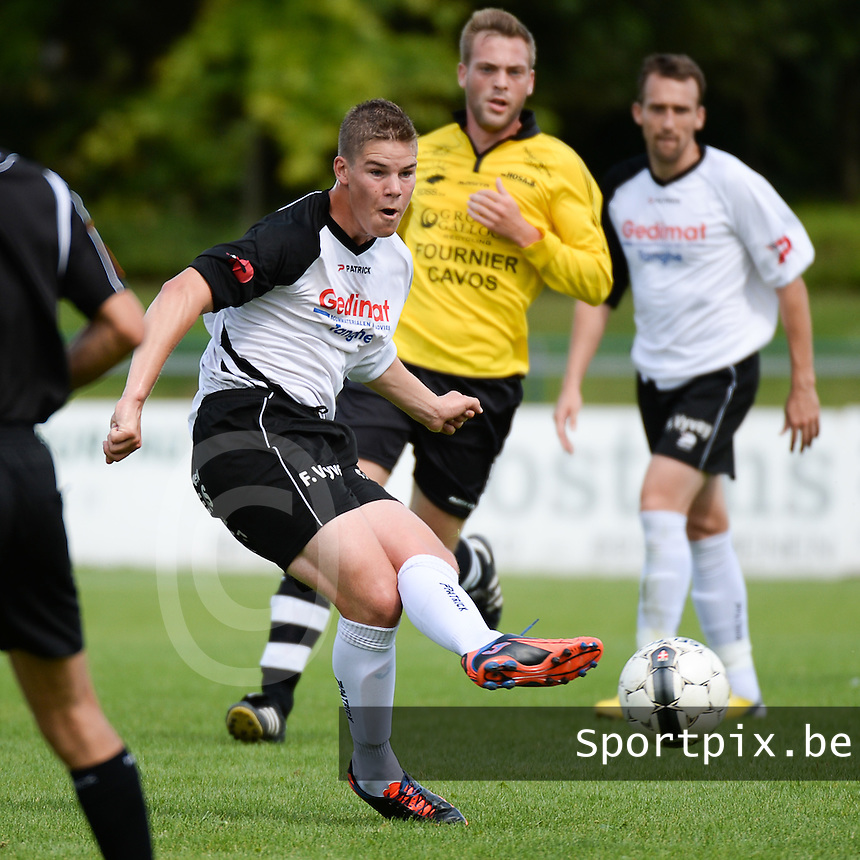 SK Eernegem : Diego Dewilde <br /> foto VDB / BART VANDENBROUCKE