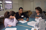 Berkeley CA English teachers working out teaching strategies together