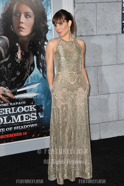 """Noomi Rapace at the Los Angeles premiere of her new movie """"Sherlock Holmes: A Game of Shadows"""" at the Village Theatre, Westwood..December 6, 2011  Los Angeles, CA.Picture: Paul Smith / Featureflash"""