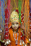 Portrait of a child, Rajasthan, India