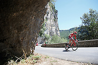 Ilnur Zakarin (RUS/Katusha)<br /> <br /> stage 13 (ITT): Bourg-Saint-Andeol - Le Caverne de Pont (37.5km)<br /> 103rd Tour de France 2016