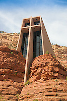 The Chapel of the Holy Cross in Sedona, Arizona. Built in April, 1956.