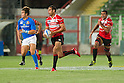 (L-R)  Ryan Nicholas,  Michael Leitch (JPN), AUGUST 13, 2011, Rugby : International test match between Italy 31-24 Japan at Dino Manuzzi Stadium, Cesena, Italy, (Photo by Enrico Calderoni/AFLO SPORT) [0391]