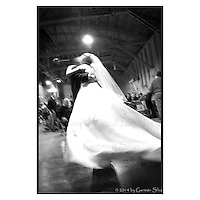First dance at Megan &amp; Nick's wedding.  The Barn, Salt Lake City, Utah.<br /> <br /> Fine art, journalistic wedding photograph / photography by German Silva.