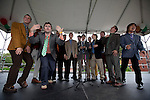 09/25/2011 - Medford/Somerville, MA - The Bubs perform a capella during Tufts Community Day on Sunday, September 25, 2011. (Jodi Hilton for Tufts University)