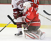 Maxie Weisz (St. Lawrence - 25) - The Harvard University Crimson defeated the St. Lawrence University Saints 8-3 (EN) to win their ECAC Quarterfinals on Saturday, February 26, 2011, at Bright Hockey Center in Cambridge, Massachusetts.