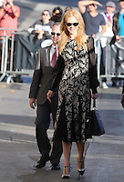 OCT 28 Nicole Kidman at Jimmy Kimmel Live