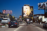 Madonna billboard on the Sunset Strip  for Madonna Live: The Drowned World Tour Airing Live  on HBO Aug. 26, 2001