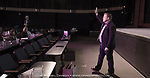 Evan Carroll at the Purple Goldfish workshop March 9, 2017 at the Bear Tooth Theatre.