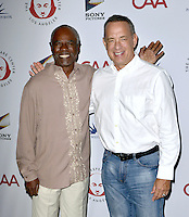 LOS ANGELES, CA - SEPTEMBER 19: Glynn Turman and Tom Hank at the 26th Annual Simply Shakespeare Benefit at The Freud Playhouse at UCLA Campus in Los Angeles, California on September 19, 2016. Credit: Koi Sojer/Snap'N U Photos/MediaPunch