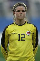 MAR 13, 2006: Faro, Portugal:  Christine Nilsen
