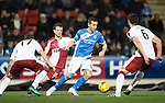 St Johnstone v Rangers&hellip;28.12.16     McDiarmid Park    SPFL<br />Steven MacLean is surrounded by Danny Wilson, Andy Halliday and Lee Hodson<br />Picture by Graeme Hart.<br />Copyright Perthshire Picture Agency<br />Tel: 01738 623350  Mobile: 07990 594431