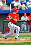 7 March 2012: Washington Nationals outfielder Rick Ankiel in action against the St. Louis Cardinals at Space Coast Stadium in Viera, Florida. The teams battled to a 3-3 tie in Grapefruit League Spring Training action. Mandatory Credit: Ed Wolfstein Photo