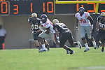 Ole Miss' Ferbia Allen (83) in Nashville, Tenn. on Saturday, September 17, 2011. Vanderbilt won 30-7..