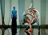 English National Ballet <br /> She Said - Triple Bill at Sadler's Wells, London, Great Britain <br /> 12th April 2016 <br /> world premier rehearsal <br /> <br /> <br /> M-Dao<br /> choreography by Yabin Wang <br /> <br /> <br /> Lauretta Summerscales <br /> as Medea <br /> <br /> Fernando Bufala as Jason <br /> <br /> Madison Keesler as Princess <br /> <br /> <br /> Photograph by Elliott Franks <br /> Image licensed to Elliott Franks Photography Services