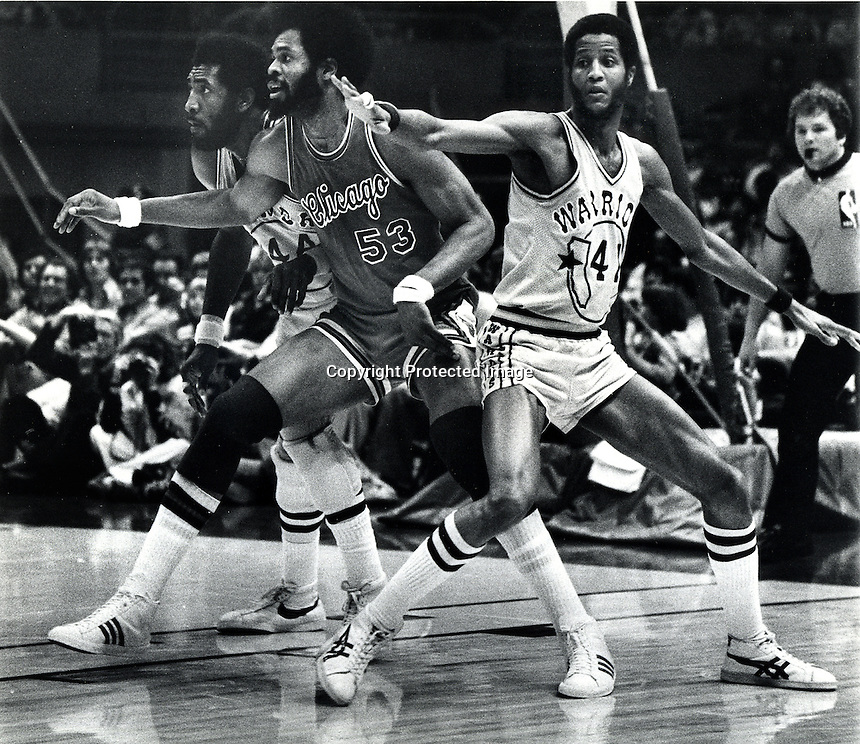 Golden State Warriors vs Chicago Bulls March 6,1977<br />