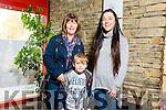 Enjoying the Circus Festival at Siamsa Tíre on Saturday were Geraldine O'Regan, Garry O'Regan and Roisin O'Regan
