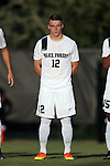 26 August 2016: Wake Forest's Brad Dunwell. The Wake Forest University Demon Deacons hosted the Saint Louis University Billikens in a 2016 NCAA Division I Men's Soccer match. SLU won the game 1-0.