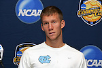 13 December 2008: Garry Lewis (8) of North Carolina.  The University of North Carolina Tar Heels held a press conference at Pizza Hut Park in Frisco, TX one day before playing in the NCAA Divison 1 Men's College Cup championship game.