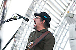 Primus plays the Stageasaurus Rex stage at the First Annual Kanrocksas Music Festival.
