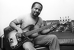 James Jamerson, July 1977. He was the uncredited bassist on most of Motown Records' hits in the 1960s and early 1970s and he has become regarded as one of the most influential bass players in modern music history. He was inducted into the Rock & Roll Hall of Fame in 2000.