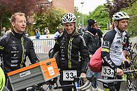 BK PLOEGENTRIATHLON IN DOORNIK :<br /> Ploeg Aarschot Triathlon Team<br /> met Steven Vuylsteke (L) - Maarten Vermeulen (M)<br /> PHOTO SPORTPIX.BE / DIRK VUYLSTEKE