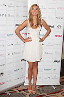 London - 'Made in Chelsea' star, Kimberley Garner attends Press launch and photocall for Teen Queen UK, a teenage beauty pageant which aims to inspire girls from all walks of life to follow their dreams. Pageant also aims to raise £20k for the Make A Difference Foundation. Alexandra Palace, London - August 30th 2012..Photo by Keith Mayhew.