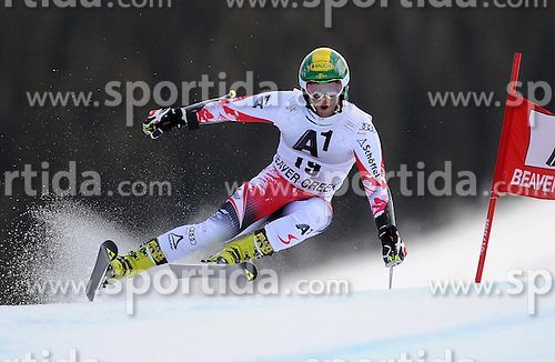 07.12.2014, Birds of Prey Course, Beaver Creek, USA, FIS Weltcup Ski Alpin, Beaver Creek, Herren, Riesenslalom, 1. Lauf, im Bild Philipp Schoerghofer (AUT) // Philipp Schoerghofer of Austria in actionduring the 1st run of men's Giant Slalom of FIS Ski World Cup at the Birds of Prey Course in Beaver Creek, United States on 2014/12/07. EXPA Pictures © 2014, PhotoCredit: EXPA/ Erich Spiess