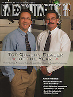 RV Executive Magazine Cover