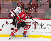 Desmond Bergin (Harvard - 37), Alex Rodriguez (RPI - 39) - The Harvard University Crimson defeated the visiting Rensselaer Polytechnic Institute Engineers 5-2 in game 1 of their ECAC quarterfinal series on Friday, March 11, 2016, at Bright-Landry Hockey Center in Boston, Massachusetts.