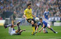 Fussball Bundesliga 2011/12: FC Schalke 04 - Borussia Dortmund