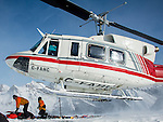 Canadian Mountain Holidays heli-skiing &amp; heli-snowboading, Bugaboos, British Columbia, Canada