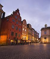 Stor Torget, Gamla Stan, Stockholm, Sweden
