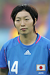 21 August 2008: Kyoko Yano (JPN). Germany's Women's National Team defeated Japan's Women's National Team 2-0 at the Worker's Stadium in Beijing, China in the Bronze Medal match in the Women's Olympic Football tournament.