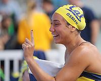 Cal Swimming & Diving W vs Oregon State, October 7, 2016