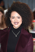 Nathalie Emmanuel at the premiere of &quot;xXx-Return of Xander Cage&quot; at the O2 Cineworld, London, UK. <br /> 10th January  2017<br /> Picture: Steve Vas/Featureflash/SilverHub 0208 004 5359 sales@silverhubmedia.com