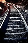 Railtrack with movement blur