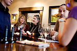 The tasting room of Williamson Wines, in Healdsburg, CA, on Friday, January 15, 2009.