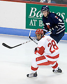 Sahir Gill (BU - 28), Blake Boddy (Toronto - 9) - The Boston University Terriers defeated the visiting University of Toronto Varsity Blues 9-3 on Saturday, October 2, 2010, at Agganis Arena in Boston, MA.
