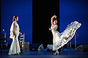 London, UK. 28.02.2016. Sadler's Wells presents Esperanza Fernandez in DE LO JONDO Y VERDADERO, as part of the Flamenco Festival London 2016. Picture shows: Marina Heredia, Ana Morales. Photograph © Jane Hobson.