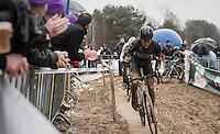 Tom Meeusen (BEL/Telenet-Fidea)<br /> <br /> elite men's race <br /> Krawatencross Lille 2017