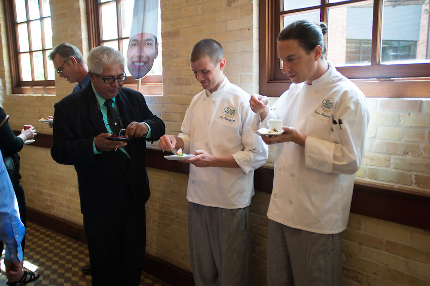 The Culinary Institute of America San Antonio Campus, class graduation, April 15, 2016. (Darren Abate for The CIA)