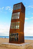 Spain, Barcelona. Barceloneta, El Cometa Herido.