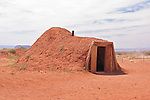 Men`s Hut in Monument Valley, Navajo Tribal Park, Arizona, USA