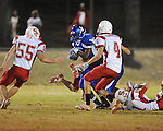 Water Valley vs. South Pontotoc high school football action in Water Valley, Miss. on Friday, October 15, 2010.