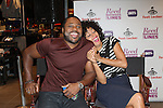 Malcolm-Jamal Warner and Tracee Ellis Ross  Attend Meet the Cast of BET's Reed Between The Lines at Foot Locker Time Square, NY  10/10/11