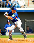 3 March 2009: Italy's catcher Vincent Rottino in action during an MLB Spring Training exhibition game against the Washington Nationals at Space Coast Stadium in Viera, Florida. The Nationals defeated Italy 9-6. Mandatory Photo Credit: Ed Wolfstein Photo