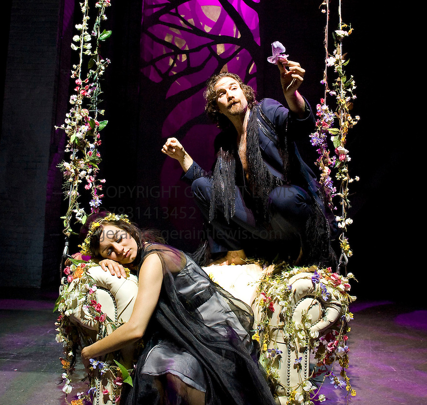 A Midsummer Night's Dream by William Shakespeare. A Royal Shakespeare Company Production directed by Nancy Meckler.With   Pippa Nixon as Titania, Jo Stone- Fewings as Oberon. Opens at The Royal Shakespeare  Theatre , Stratford Upon Avon on 4/8/11 CREDIT Geraint Lewis