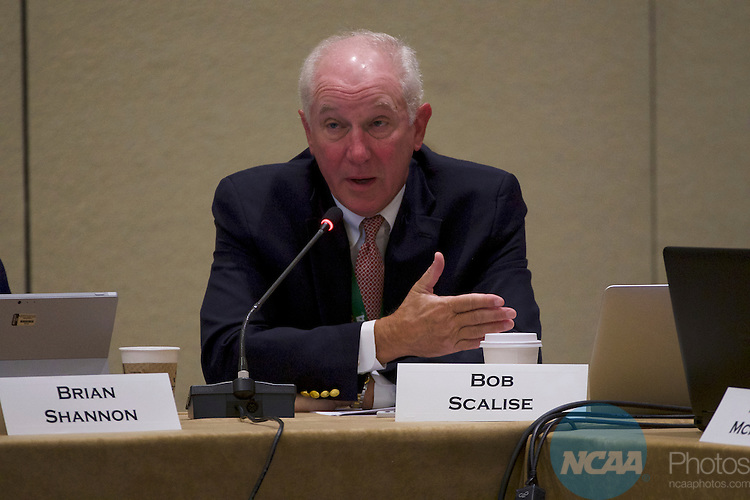 18 JAN 2017: The Division I Council meeting takes place during the 2017 NCAA Convention at the Gaylord Opryland Resort and Convention Center in Nashville, TN.  Jamie Schwaberow/NCAA Photos  (Pictured:  Bob Scalise)