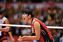 Erika Araki (JPN), .MAY 23, 2012 - Volleyball : FIVB the Women's World Olympic Qualification Tournament for the London Olympics 2012, between Japan 1-3 Korea at Tokyo Metropolitan Gymnasium, Tokyo, Japan. (Photo by Jun Tsukida/AFLO SPORT) [0003]..
